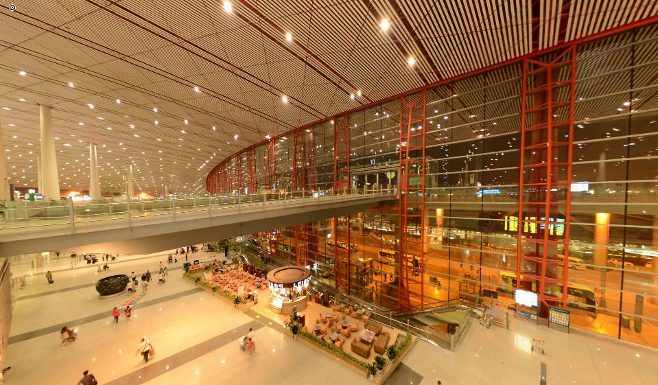 北京 景全景/北京国际机场T3航站楼(多场景漫游版)